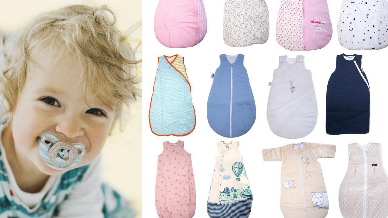 Großbritannien UK-Shop Bestpreis Babyschlafsack-Test: In welchem Schlafsack Babys sicher ...