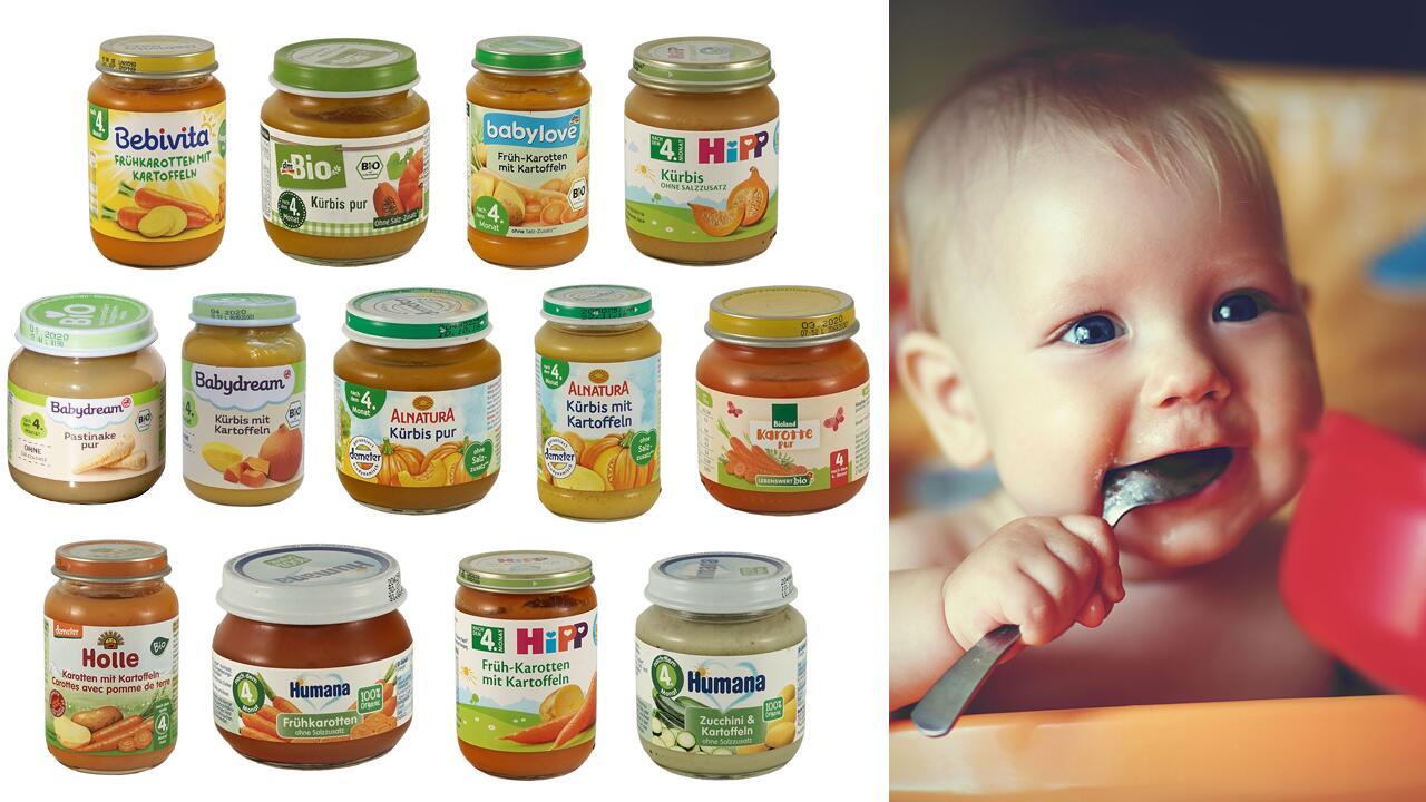 b77d0fbb13855b Gemüsebrei-Test  Schadstoffe im Babygläschen - ÖKO-TEST