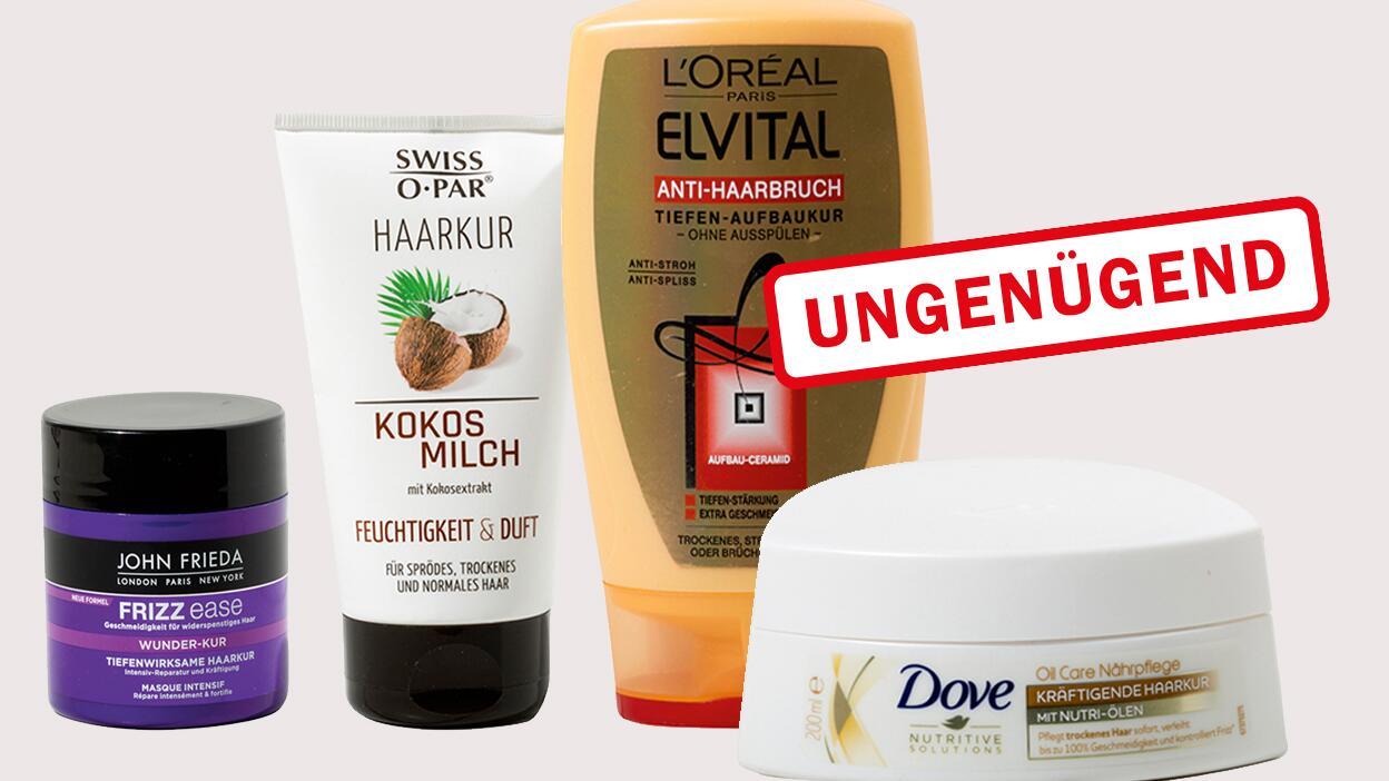 Haarkur Test Knapp Die Hälfte Mit Löslichem Plastik Belastet öko Test