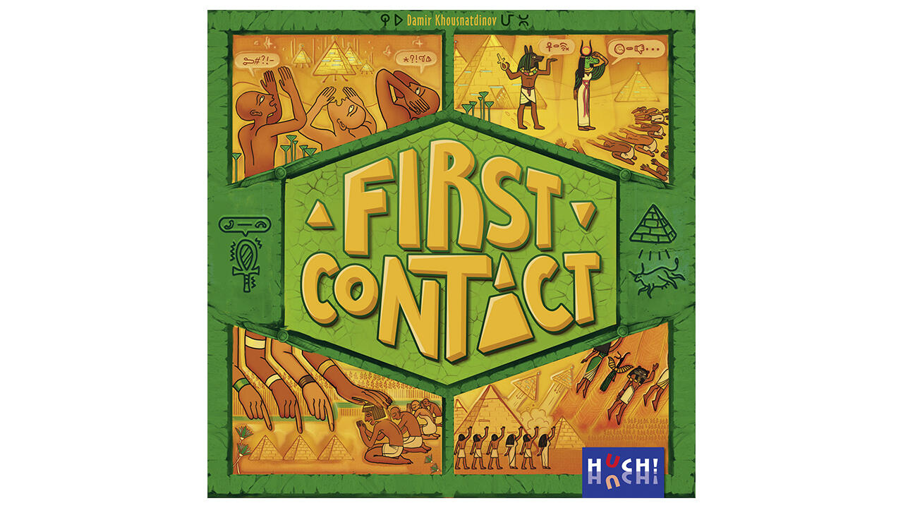 First Contact (Huch), 2–7 Spieler, ab 12 Jahre, ca. 24 Euro