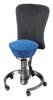 Aeris swopper work, Sitz royal blau, Lehne dynamic schwarz