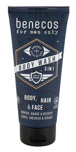 Benecos For Men Only Body Wash 3 in 1