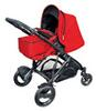 Britax B-Dual 4 + Softtragetasche, Chili Pepper
