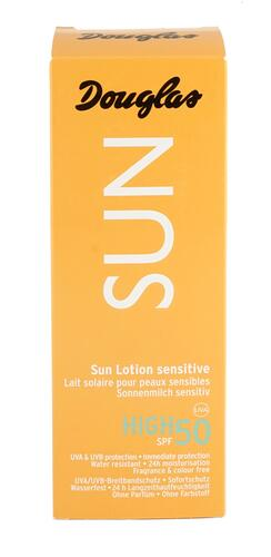 Douglas Sun Lotion Sensitive 50