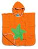Early Fish Bio-Frottee Badeponcho, orange