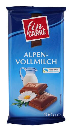 Fin Carré Alpenvollmilch, Fairtrade Cocoa Program