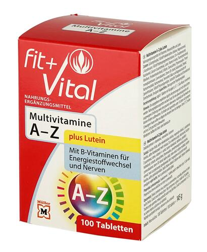Fit + Vital Multivitamine A-Z, Tabletten