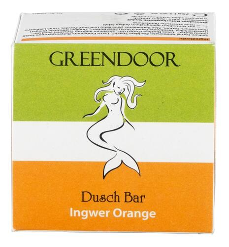 Greendoor Dusch Bar Ingwer Orange