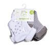 Happy Price Baby-Frotteesocken 7er Pack, weiß/grau