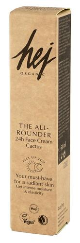 Hej Organic The Allrounder 24h Face Cream Cactus