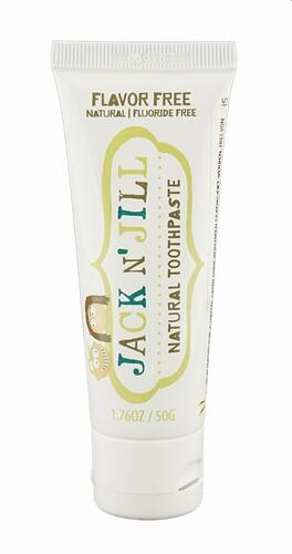 Jack n' Jill Natural Toothpaste Flavor Free