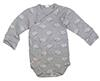 "Kanz Layette ""Little Sheep"" Wickelbody 1/1 Arm, grau"