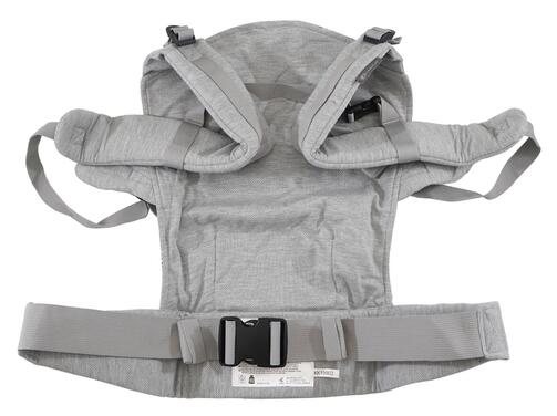 Kinderkraft Babytrage Milo, Full Grey
