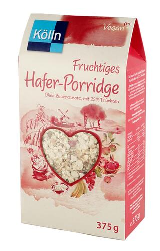 Kölln Fruchtiges Hafer-Porridge, vegan