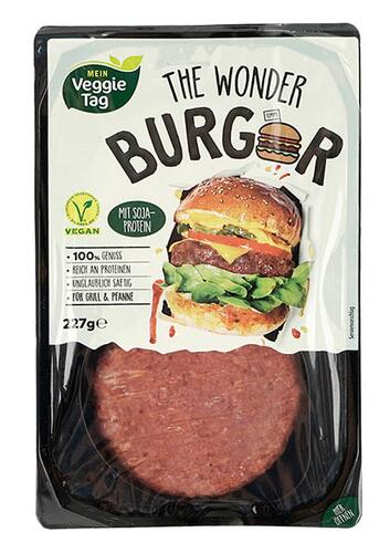 Mein Veggie Tag The Wonder Burger
