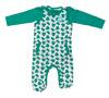 Name It Baby Set Strampler & Langarm-Body, grüne Elefanten