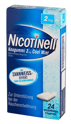 Nicotinell Kaugummi 2 mg, Cool Mint
