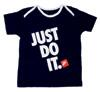 "Nike T-Shirt ""Just Do It."", blau"