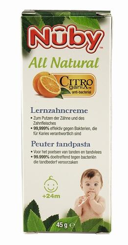 Nuby All Natural Lernzahncreme