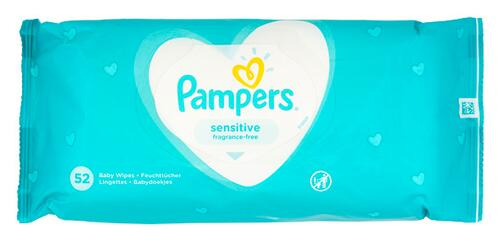 Pampers Sensitive Feuchttücher, 5er Pack