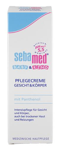 Sebamed Baby & Kind Pflegecreme mit Panthenol