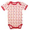Sense Organics Yvon Retro Body, dark coral, Flamingos