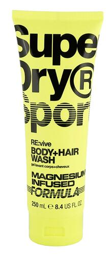 Super Dry Sport Re:vive Body+Hair Wash Magnesium Infused