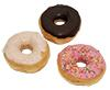Tasty Donuts Blacky, Classic, Raspberry Kiss, lose