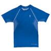 Thoni Mara Runner's Wear Herren Basic Ti-Shirt, azur