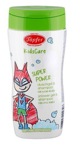 Töpfer Kids Care Super Power Duschgel & Shampoo