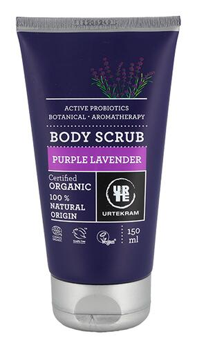 Urtekram Body Scrub Purple Lavender