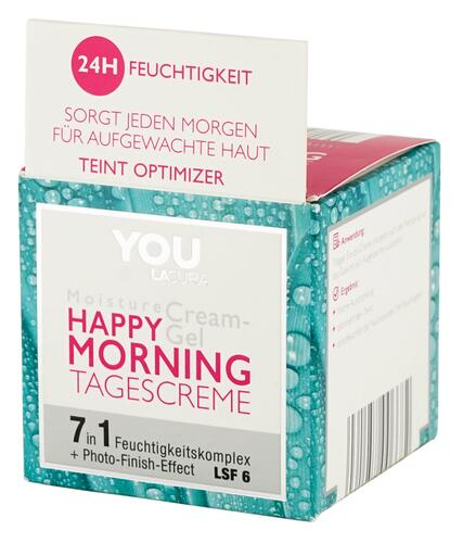 You Lacura Moisture Cream-Gel Happy Morning Tagescreme