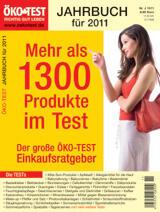 ÖKO TEST Jahrbuch für 2011 ÖKO TEST