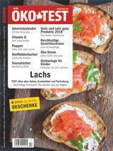 ÖKO-TEST Dezember 2018: Schwerpunkt Lachs