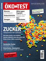 ÖKO-TEST Februar 2019: Titelthema Zucker