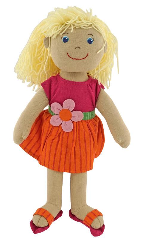 Heless Maya Fair Trade Puppe mit Kleid, 32 cm