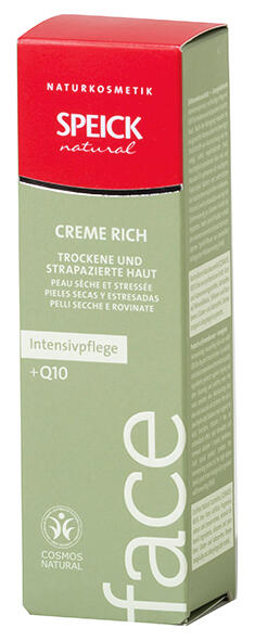Speick Natural Face Intensivpfl ege Creme Rich
