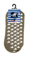 Capt'n Sharky Stopper-Socken blass khaki, Art. 73205