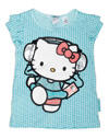 H & M Hello Kitty T-Shirt türkis/Sternchen