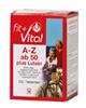 Fit+Vital A-Z ab 50 plus Lutein, Tabletten