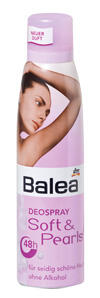Balea Deo Spray Soft & Pearls 48h