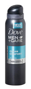 Dove Men +Care Clean Comfort 48h Anti-Transpirant Deo-Spray