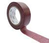 MT Masking Tape Washi Samekomon Beni 15 mm x 10 m