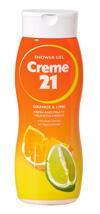 Creme 21 Shower Gel Orange & Lime