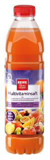 Rewe Beste Wahl Multivitaminsaft