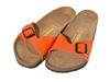 Birkenstock Madrid Birko-Flor, Lack orange