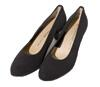 Peter Kaiser Nancy Pumps, Schwarz Stretch Chevro