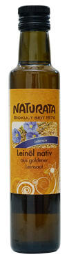 Naturata Leinöl nativ, intensiv, aus goldener Leinsaat