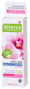 Alterra Anti-Age Nachtcreme Orchidee