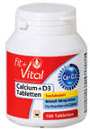 Fit + Vital Calcium + D3 Tabletten